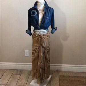 LAUREN Ralph Lauren Asymmetrical Skirt